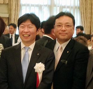 伊原木隆太新知事と2ショット
